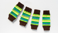 Fashion design well knitted cotton pet products,bright color dog leg warmer pet socks series pet accessories manufacturer