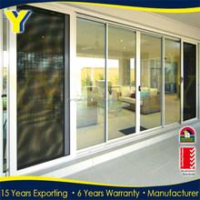 sliding door / bedroom sliding door / aluminum interior door