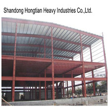 Prefabrication steel structure car garage