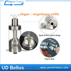 Newest atomizer UD Bellus RTA 100% original rta atomizer for wholesale