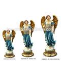 siete gabriel arcángel escultura religiosa