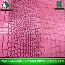 Small crocodile pattern pu leather for bag handbag wallet