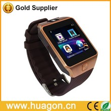 Touch Screen High Quality Bluetooth Smartwatch DZ09 Smartwatch Wearable Bluetooth Watch Phone for Android/IOS Smartphones