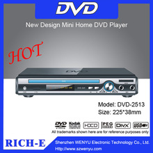 AC 110 ~ 240V, 50 / 60Hz LED display dvd player with USB 2.0