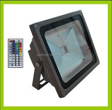 LED Spotlight IP65 Waterproof RGB Colour Changing LED floodlight
