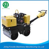FYL-800 walk behind double drum vibratory road roller