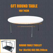 180cm 1.8m 6FT Banquet catering Plastic Folding table