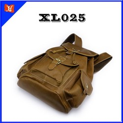 New Designer Women's Vintage Backpack Leather Travel Shoulder Bags