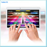 10.6 inch Tablet pc 3G Phone Double Sim card 1024*600 1GB+8GB/16GB/32GB, Quad core A7 1.5GHz Tablet Android 4.2.2
