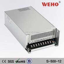 Universal led power supply 500W 12V switching power supply 220v dc