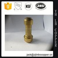union muff flexible morris tapered brass pump coupling