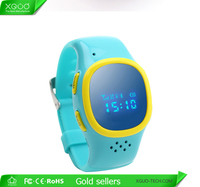 2015Newest GPS location children smart watch mobile phone with sim slot