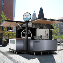 10FT POP-UP Shipping container kiosk design,Mobile fast food kiosk for sale