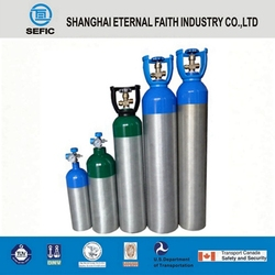 Made in China Quality Assured Small Portabe Medical Oxygen Cylinder