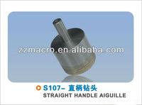 ompetitive price 26mm glass cutting diamond drill bits straight shank thin wall 1mm
