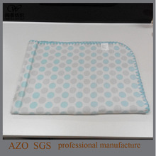 China OEM Pure Cotton Soft Jacquard Baby Throw