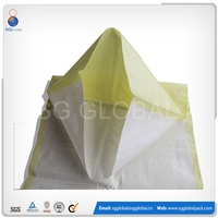 Polypropylene plastic woven 50kg feed bags and sacks