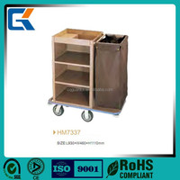 4 star Hotel Housekeeping Maid Carts maid Trolley