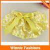New Arrival Chevron Ruffle Baby Bloomers Toddler Diaper Cover