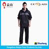 0.2mm water repellent plastic pvc rain suit for adults