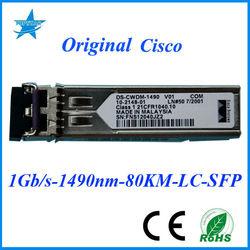 Cisco SFP module DS-CWDM-1490 1.25G 1490nm 80km SMF VGA RCA