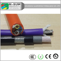 UL 2919 low voltage Flat Travling Cable for Elevator ,moving machine