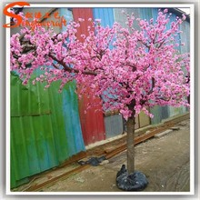 fake artificial indoor cherry blossom tree mini plastic cherry blossom tree branch for wedding arch