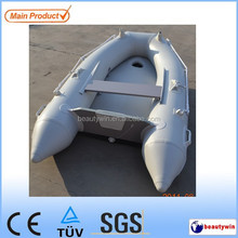 (CE) 2.3m folding inflatable rubber motor boat for sale