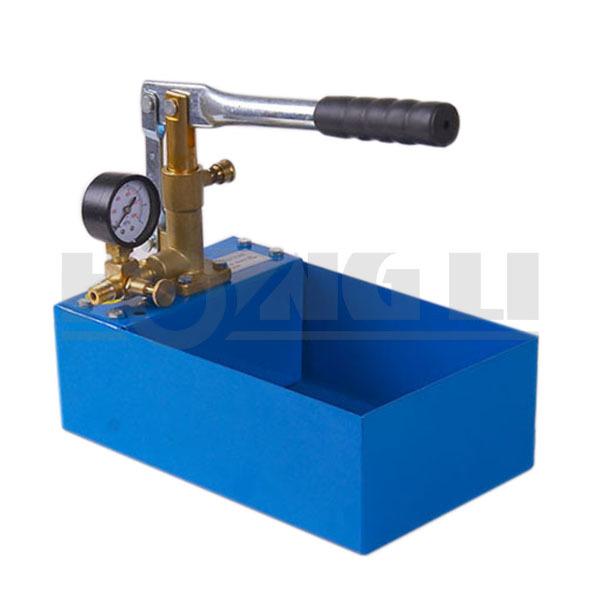 HSY30-5S alta presión hydraulic pump/bomba de prueba manual