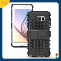 2015 China wholesale! hybrid rugged hard case cover for Samsung Note 5 case 2 in1 armor cell phone case