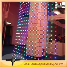 led curtain/flexible led screen/soft led display
