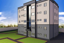 High rise pre engineering steel structure building for apartment