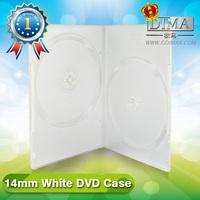 cheap elegant design white dvd case