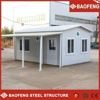 fashionable design portable building bamboo prefabricated houses