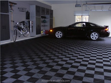 2015 high quality pvc interlocking garage flooring