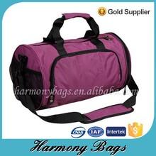 Nice price pink 1680D sport Athletic travelling bag