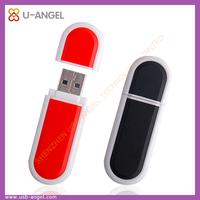 Custom logo flat 4gb fingerprint usb flash drive,plastic plain usb memory stick