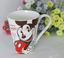 fancy design coffee cups and mugs,cute mickey mouse mug factory