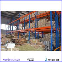 Heavy duty metal industrial pallet rack