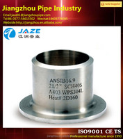 stainless steel forged lap joint flange stub end