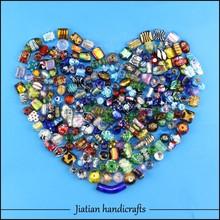 mezcla de cristal de murano cuentas de vidrio para la fabricación de joyas