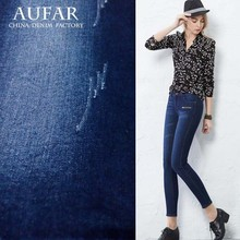 3910Thick and warm denim fabric in winter, soft thick stretch denim