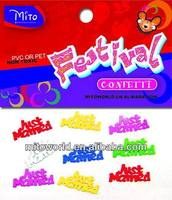 MTLP-PA015 rave party decorations confetti