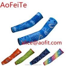 AoFeiTe AFT-UV001 Custom sublimated digital camo arm sleeves with lycra