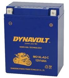 Dynavolt CHINA MG14L-A2-C gel maintenance free batteries motorcycle 12v
