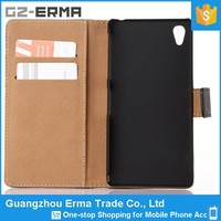 2015 Fashionable Cool Wallet Stand Cover Flip Pu Leather Phone Case For Sony Xperia Z3 Compact