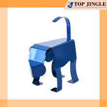Cute Blue Animal Design Metal Monkey Shape Bookend