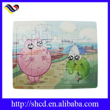 cartoon type greyboard jigsaw puzzle toy