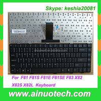 laptop keyboard wholesale price for asus F81 F81S F81E F81SE F83 X82 X82S X82L Internal Keyboard