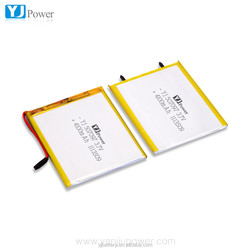 high capacity lithium battery rechargeable battery 3.7V 507097 4100mAh for ups and led